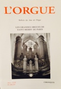 L'Orgue, n° 298-299 (2012/II-III) - Revue - Livre - laflutedepan.com