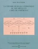 La théorie musicale germanique du XIXe siècle et l'idée de cohérence laflutedepan.com