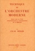 Technique de l'orchestre moderne WIDOR Charles-Marie laflutedepan.com