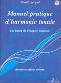 Manuel pratique d'harmonie tonale David LAMPEL Livre laflutedepan.com