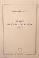Traité de l'orchestration vol. 2 Charles KOECHLIN laflutedepan.com