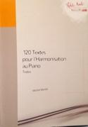 120 textes pour l'harmonisation au piano, vol. 1 : Textes laflutedepan.com