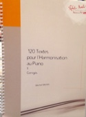 120 textes pour l'harmonisation au piano, vol. 2 : Corrigés laflutedepan.com