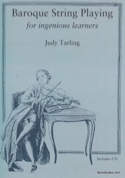 Baroque string playing Judy TARLING Livre laflutedepan.com
