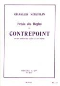 Précis des règles du contrepoint - Charles KOECHLIN - laflutedepan.com