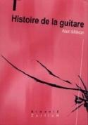 Histoire de la guitare - Alain MITERAN - Livre - laflutedepan.com