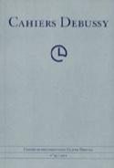 Cahiers Debussy, n° 36 Collectif Livre Les Hommes - laflutedepan.com