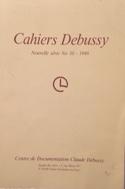 Cahiers Debussy, n° 10 Collectif Livre Les Hommes - laflutedepan.com