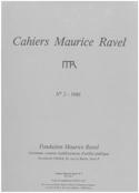 Cahiers Maurice Ravel, n° 2 (1986) Revue Livre laflutedepan.com