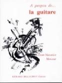 A propos de la guitare MOURAT Jean-Maurice Livre laflutedepan.com