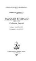 Jacques Thibaud : 1880-1953, violoniste français - laflutedepan.com