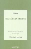 Traité de la musique BOÈCE Livre laflutedepan.com