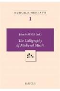 Calligraphy of medieval music John HAINES Livre laflutedepan.com