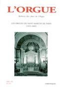 L'Orgue, n° 271 (2005/III) Revue Livre Revues - laflutedepan.com