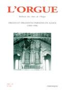 L'orgue, n° 265 (2004/I) Revue Livre Revues - laflutedepan.com