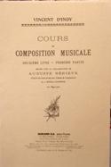 Cours de composition musicale : Vol. 2, 1ere partie laflutedepan.com