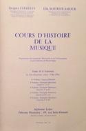 Cours d'histoire de la musique : Tome 2 vol. 5 - laflutedepan.com