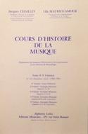 Cours d'histoire de la musique : Tome 2 vol. 3 laflutedepan.com