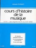 Cours d'histoire de la musique : Tome 1 vol. 5 laflutedepan.com