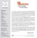Euterpe, la revue musicale - N° 22 Revue Livre laflutedepan.com