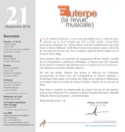 Euterpe, la revue musicale - N° 21 Revue Livre laflutedepan.com