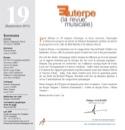 Euterpe, la revue musicale - N° 19 Revue Livre laflutedepan.com