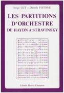 Les partitions d'orchestre de Haydn à Stravinsky laflutedepan.com