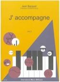 J'accompagne, volume 2 Jean BACQUET Livre laflutedepan.com