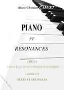 Piano et résonances, opus 1 (8 cahiers) - laflutedepan.com
