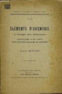 Eléments d'harmonie à l'usage des débutants - laflutedepan.com