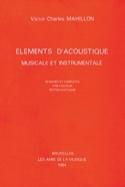 Éléments d'acoustique musicale et instrumentale laflutedepan.com