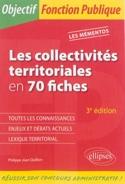 Les collectivités territoriales en 70 fiches, 4ème édition - laflutedepan.com