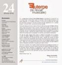 Euterpe, la revue musicale - n° 24 Revue Livre laflutedepan.com