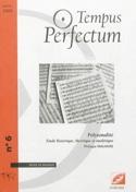Tempus perfectum : revue de musique, n° 6 laflutedepan.com