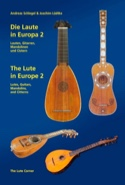 Die Laute in Europa 2 - The Lute in Europe 2 (Livre en allemand - anglais) laflutedepan.com