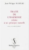 Traité de l'harmonie Jean-Philippe RAMEAU Livre laflutedepan.com
