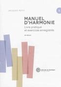 Manuel d'harmonie, vol. 1 : Livre pratique et exercices enregistrés laflutedepan.com