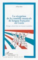La réception de la comédie musicale de langue française en Corée laflutedepan.com