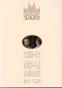 Association Maurice & Marie-Madeleine Duruflé : bulletin n° 11 (2011) laflutedepan.com