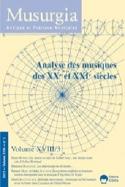 Musurgia, vol. XVIII - n° 3 (2011) : Analyse des musiques des XXe et XXIe siècle laflutedepan.com