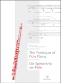 The Techniques of Flute Playing (Livre en anglais-allemand) laflutedepan.com