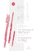 The Techniques of Flute Playing II (Livre en anglais - allemand) laflutedepan.com