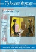 Analyse musicale, n° 73 : Hommages et anniversaires - laflutedepan.com