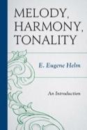 Melody, harmony, tonality - Eugene HELM - Livre - laflutedepan.com