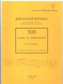 300 Textes et Realisations Cahier 16 (Textes):styles divers de Monteverdi à Mess - laflutedepan.com