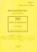 300 Textes et Realisations Cahier 12 (réalisations):C.Franck, E.Chausson, H.Dupa laflutedepan.com
