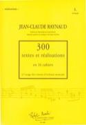 300 Textes et Realisations Cahier 5 (Realisations): 18 chorals - laflutedepan.com
