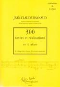 300 Textes et Realisations Cahier 6 (réalisations): JS Bach laflutedepan.com