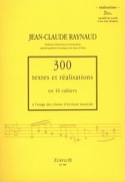 300 Textes et Realisations Cahier 2bis (réalisations): ensembles des accords et laflutedepan.com