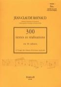 300 Textes et Realisations Cahier 2 bis (textes): ensemble des accords et notes laflutedepan.com